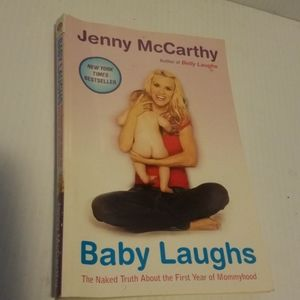 Baby Laughs by Jenny McCarthy paperback book